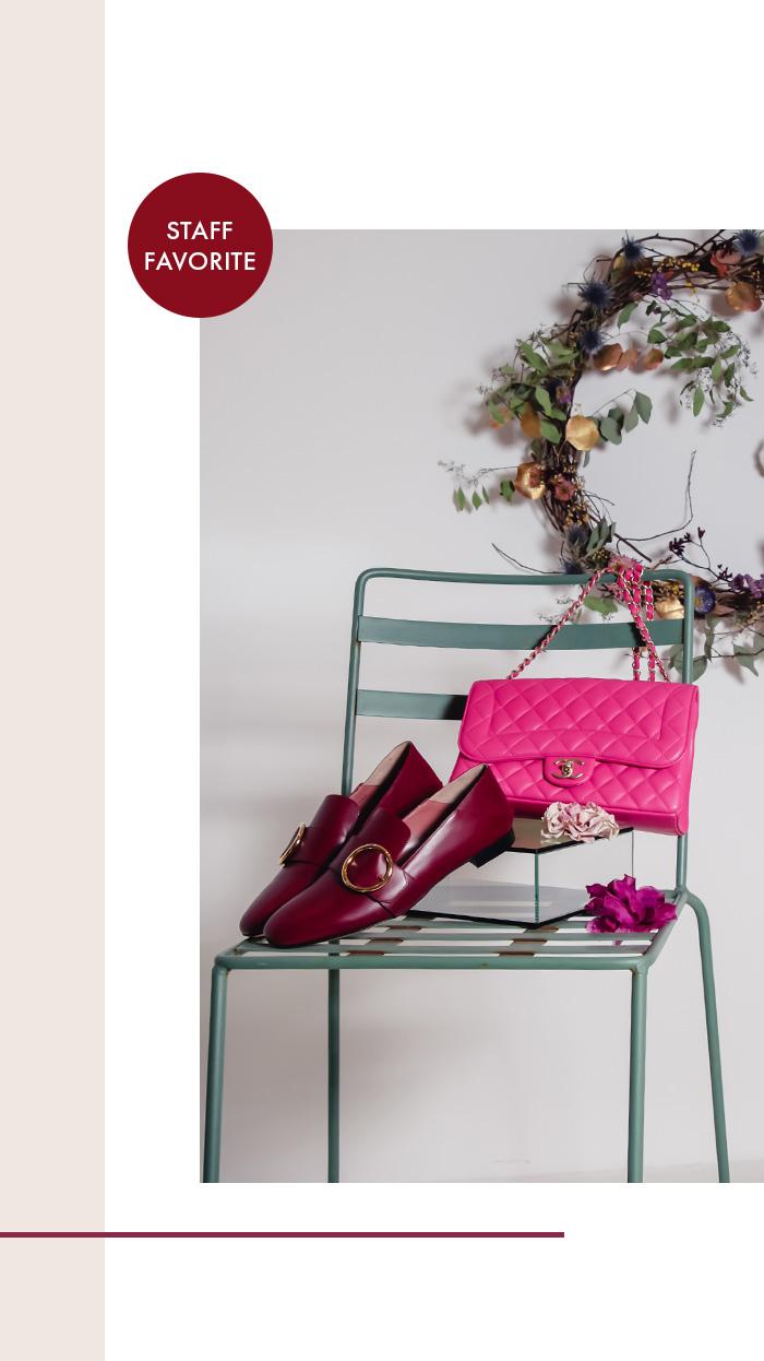 Pinke Chanel Handtasche, gesteppt - Second Hand