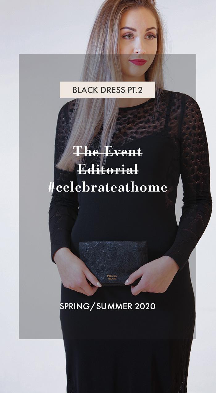 #Celebrateathome - Abendkleider für jetzt oder später