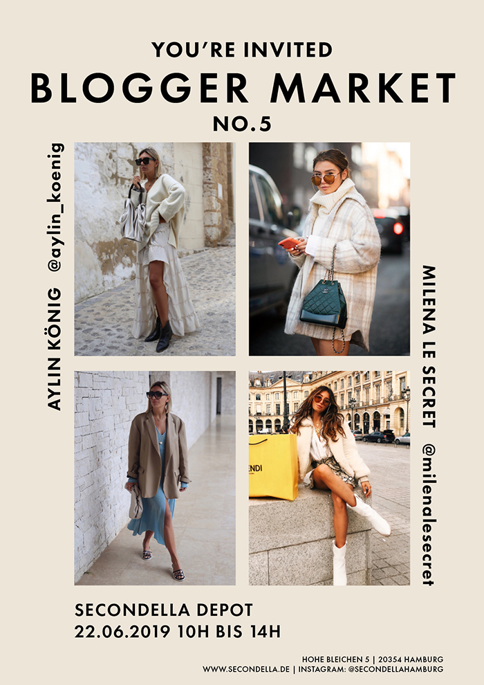 Blogger Market No.5 - mit Aylin König & Milena Le Secret 2019
