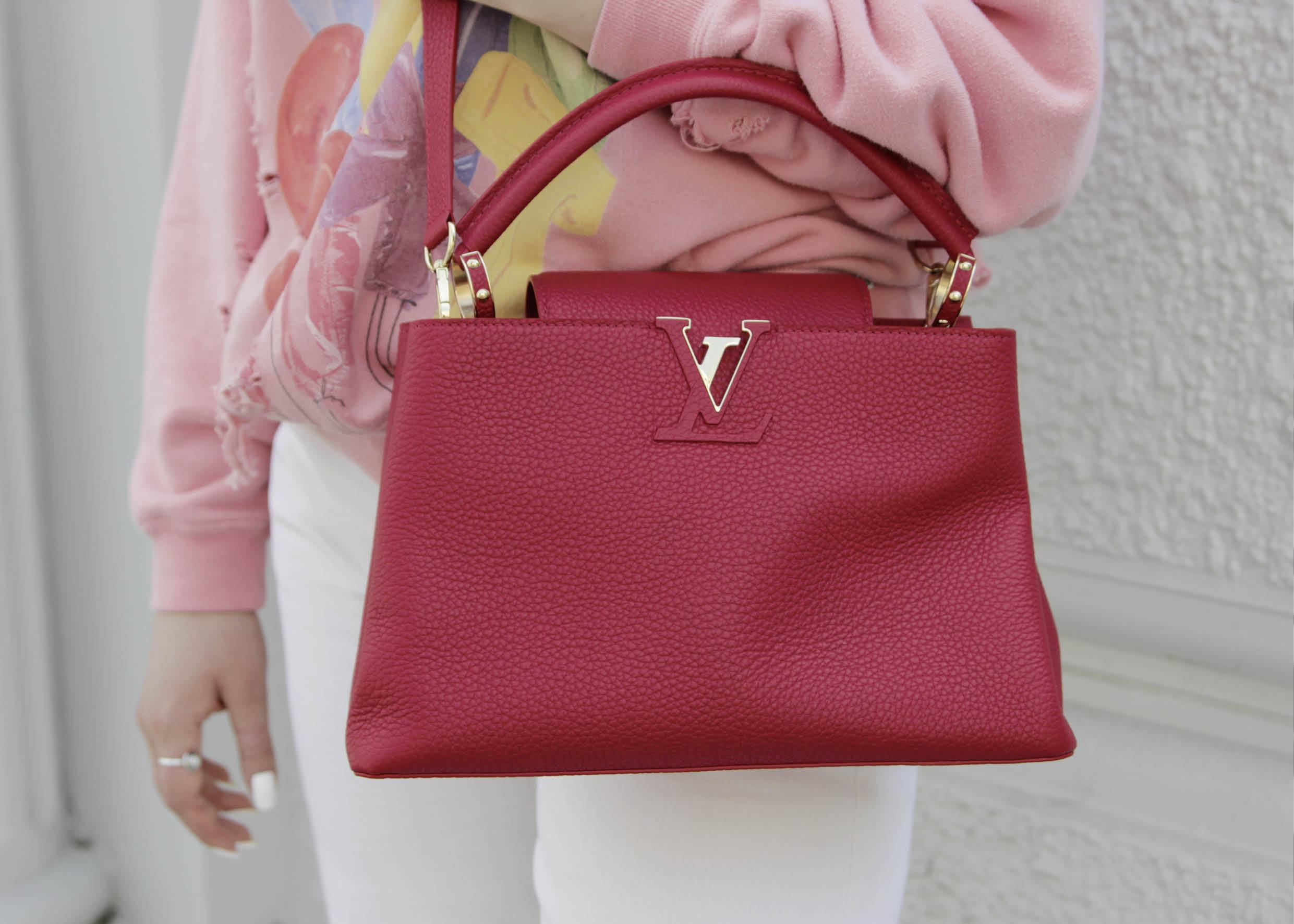 Secondhand Louis Vuitton Designer Tasche Must Have in rot