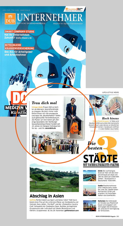 DUB Unternehmer Magazin 06/2019