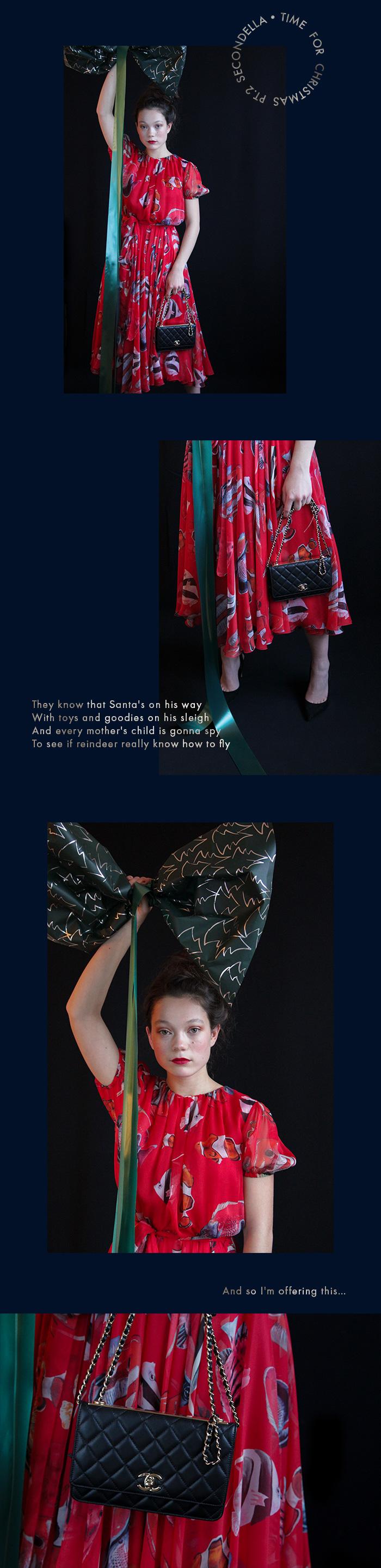 Festliche Kleider für Weihnachten bei SECONDELLA entdecken.