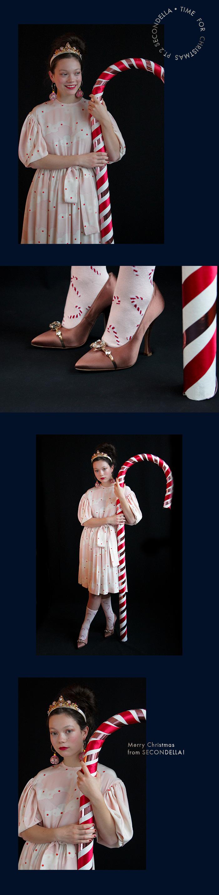 Wunderschöne Kleider und funkelnde Accessoires für Weihnachten.