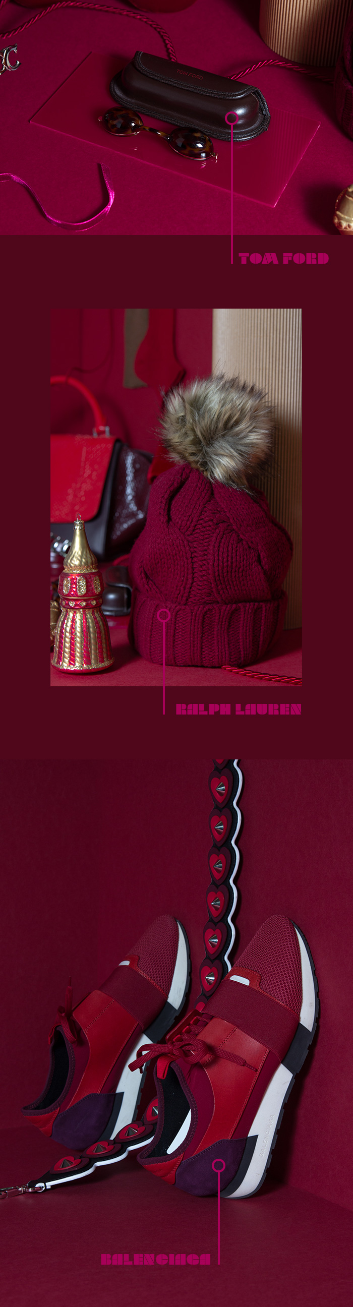 Geschenke-Guide Weihnachten 2019 - Tom Ford, Balenciaga, Ralph Lauren
