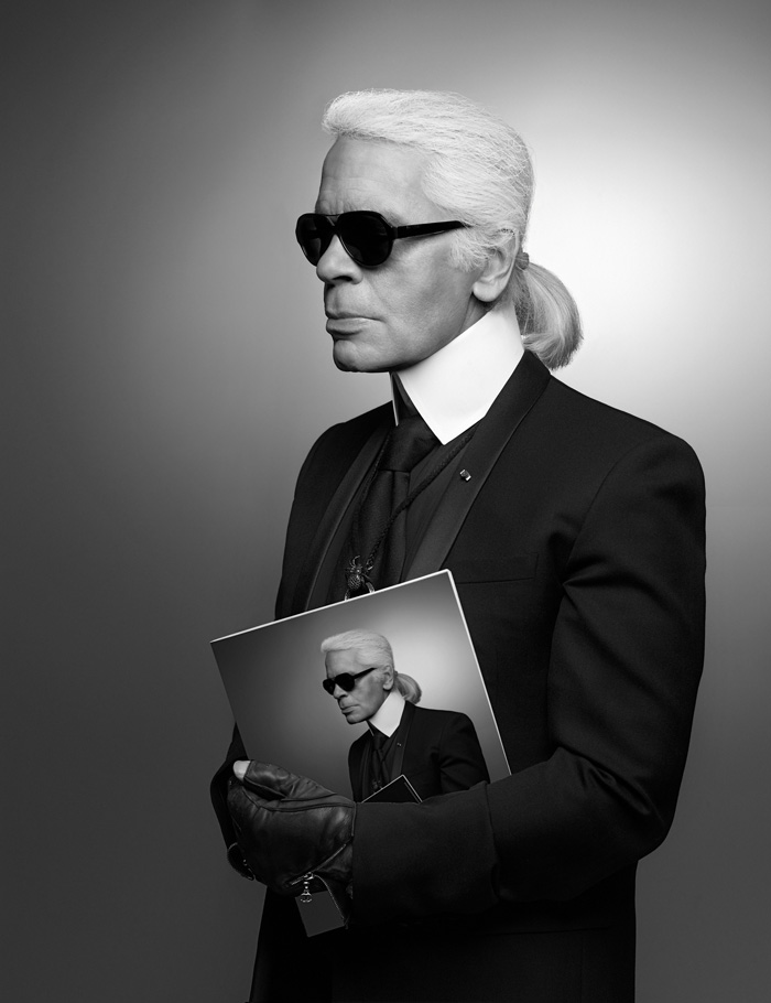 Karl Lagerfeld Selbstportrait 2013