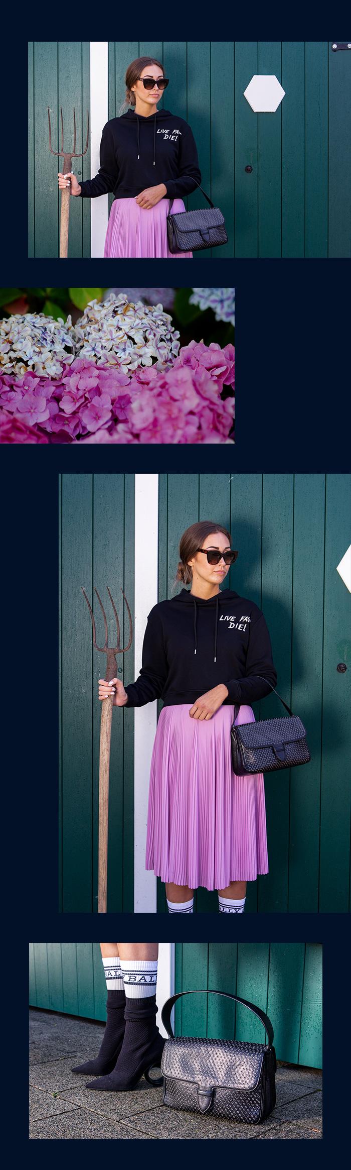 Landpartie mit Alexander McQueen Sweater