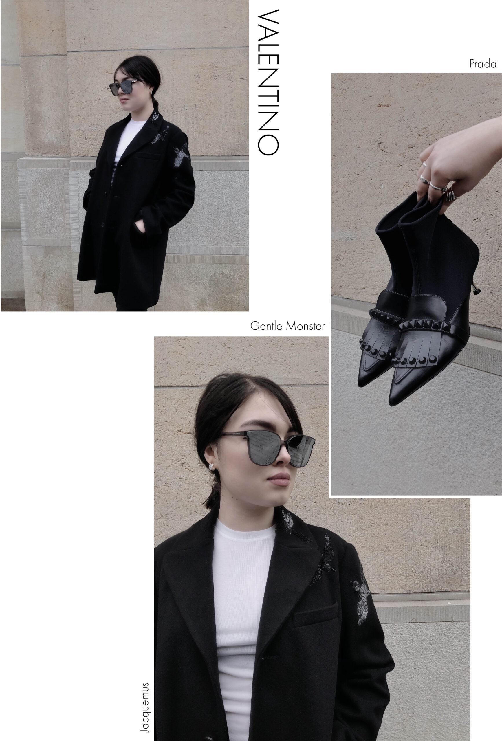 Winter SALE 2021 Basic Luxus Secondhand Teile mit kleinen Details von Valentino und Prada
