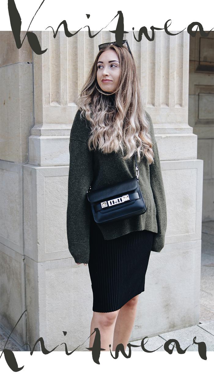 Mode-Trends Herbst 2021: Strick - Strickleider, Strickröcke - Designermode gebraucht kaufen