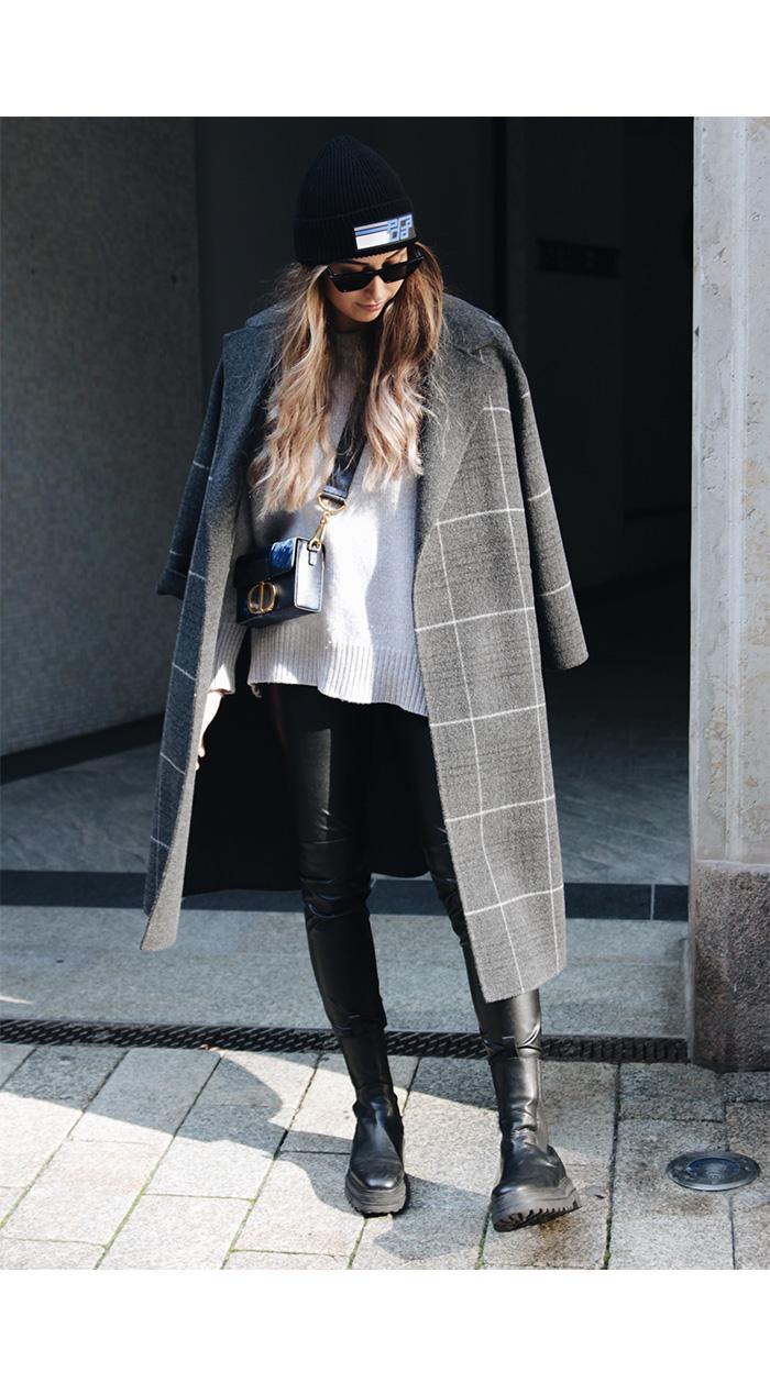 Modetrends Herbst 2021: Karo-Mäntel - Designermäntel gebraucht kaufen