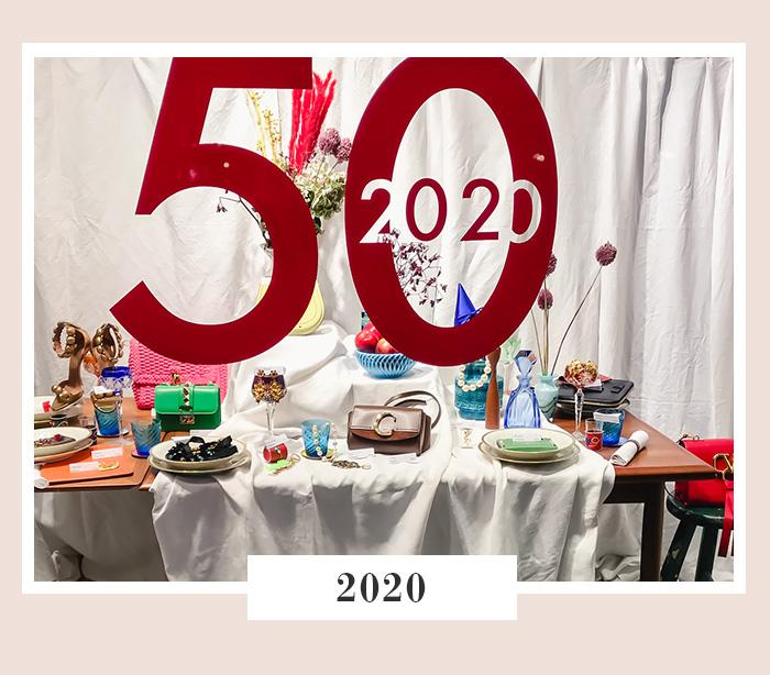 50 Jahre SECONDELLA - Jubiläums-Schaufenster 2020