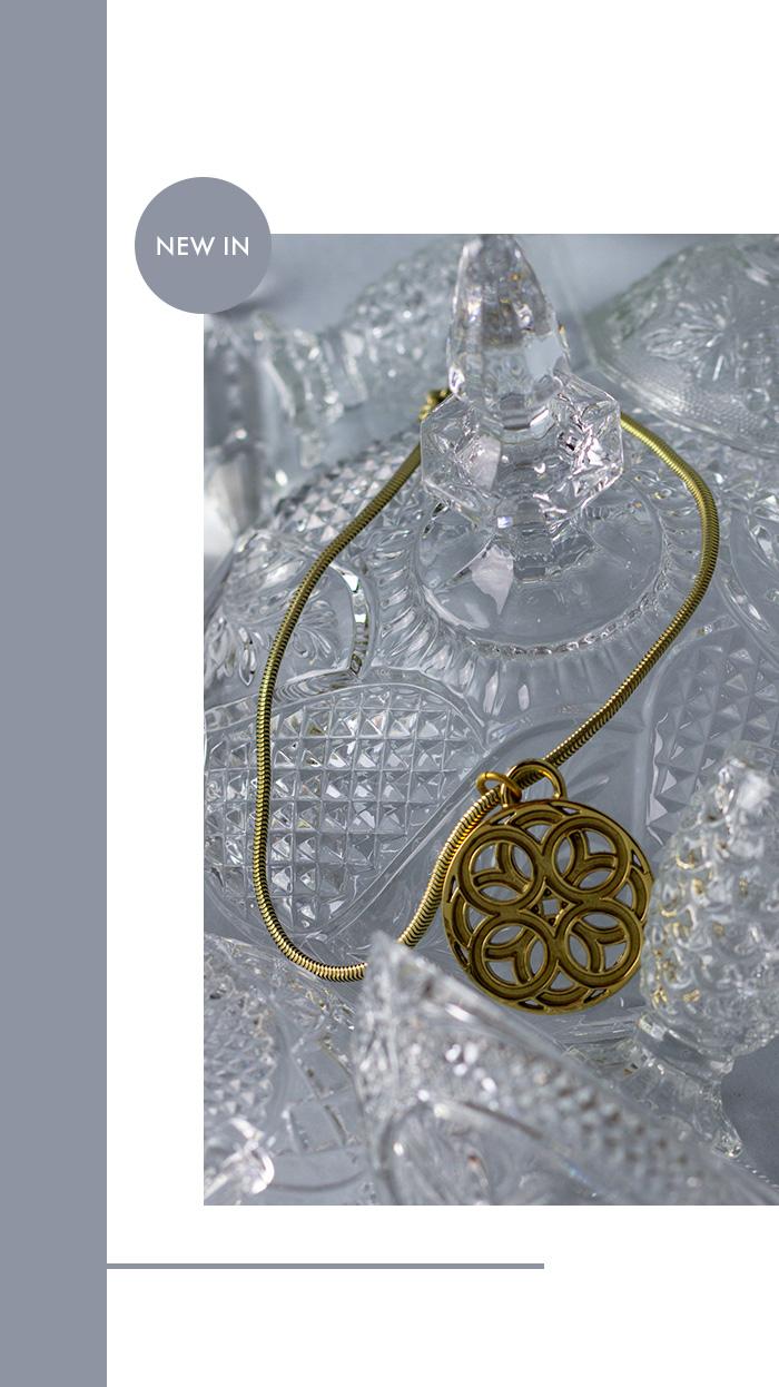 Rena Lange Vintage Kette - Amulett