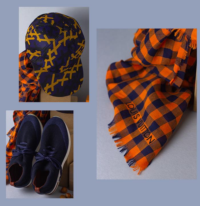 Weihnachtsgeschenke für Ihn 2020 - Louis Vuitton Schal - Vichymuster