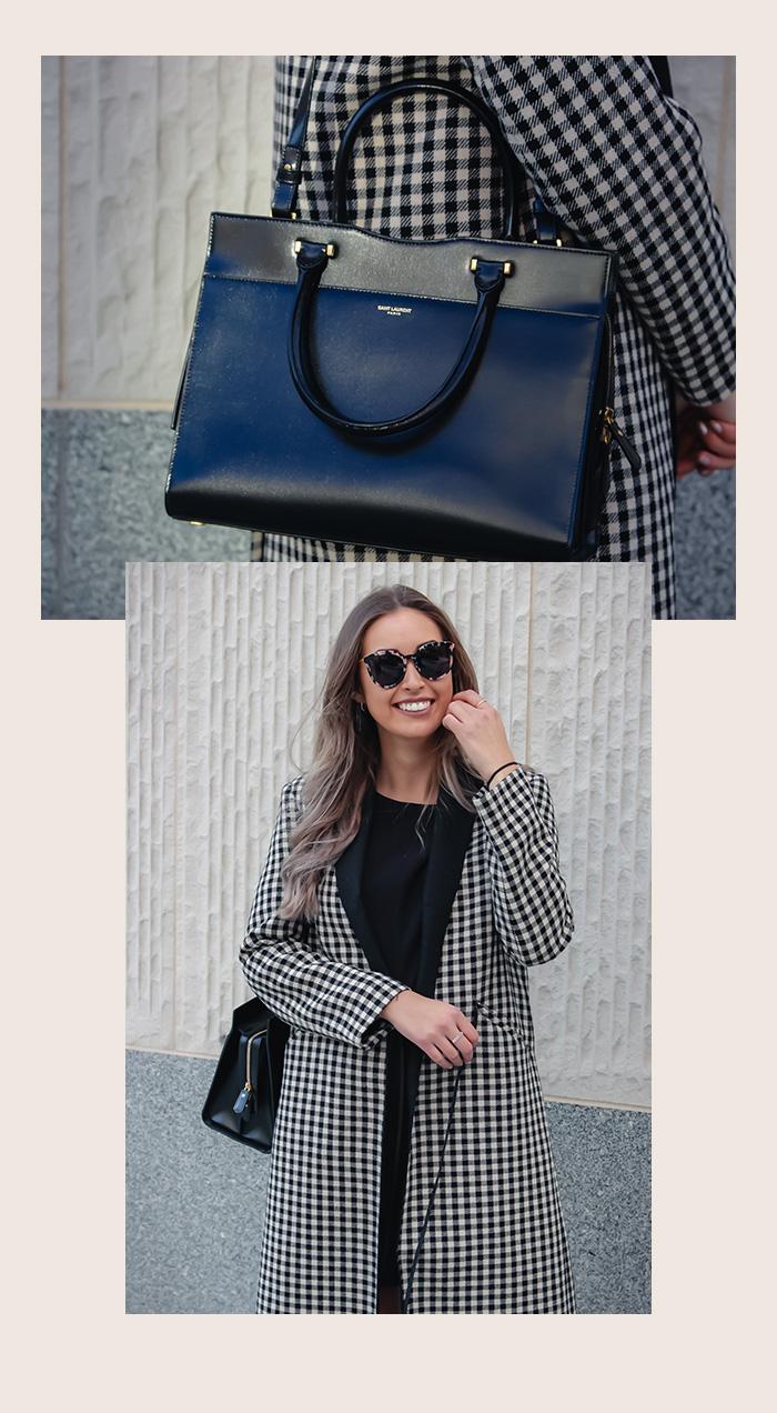 Unsere Favoriten für den Herbst: Saint Laurent, Uptown Tasche, schwarz, gebraucht