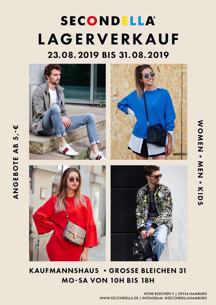 SECONDELLA Sommer-Lagerverkauf im Kaufmannshaus 2019