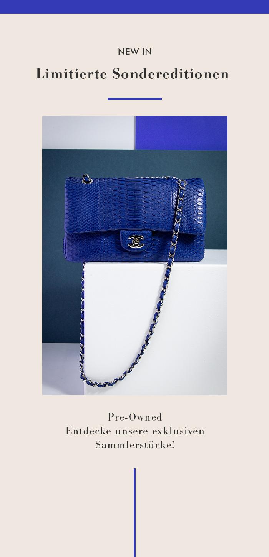 Limitierte Sondereditionen: Handtaschen von Chanel, Hermès & Louis Vuitton