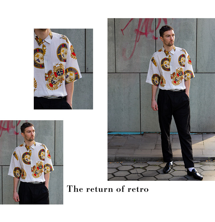 SECONDELLA Menswear - The return of retro