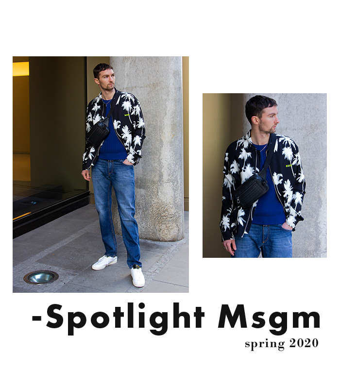 SECONDELLA: Spring 2020 Menswear MSGM