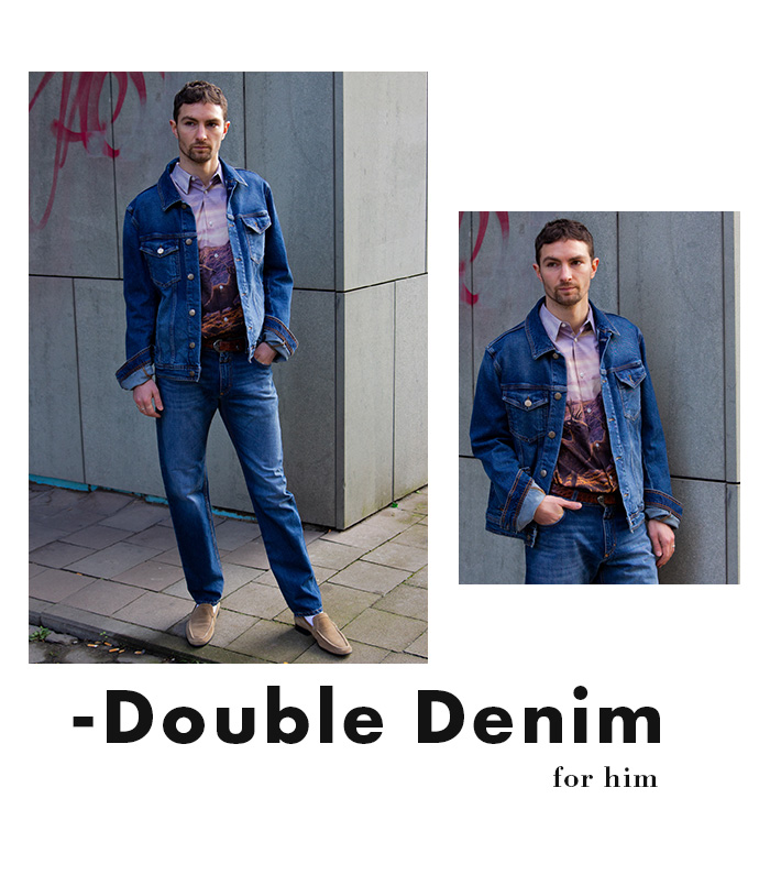 Denim on Denim - New Menswear Arrivals