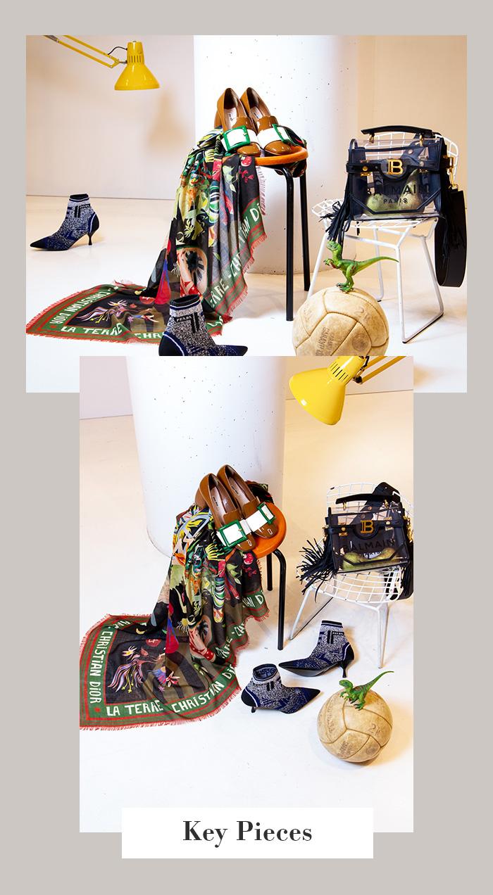 """Frühlings-Accessoires: Dior Tuch """"La Terre"""""""