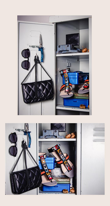 Gebraucht: Balenciaga Umhängetasche, schwarz gesteppt
