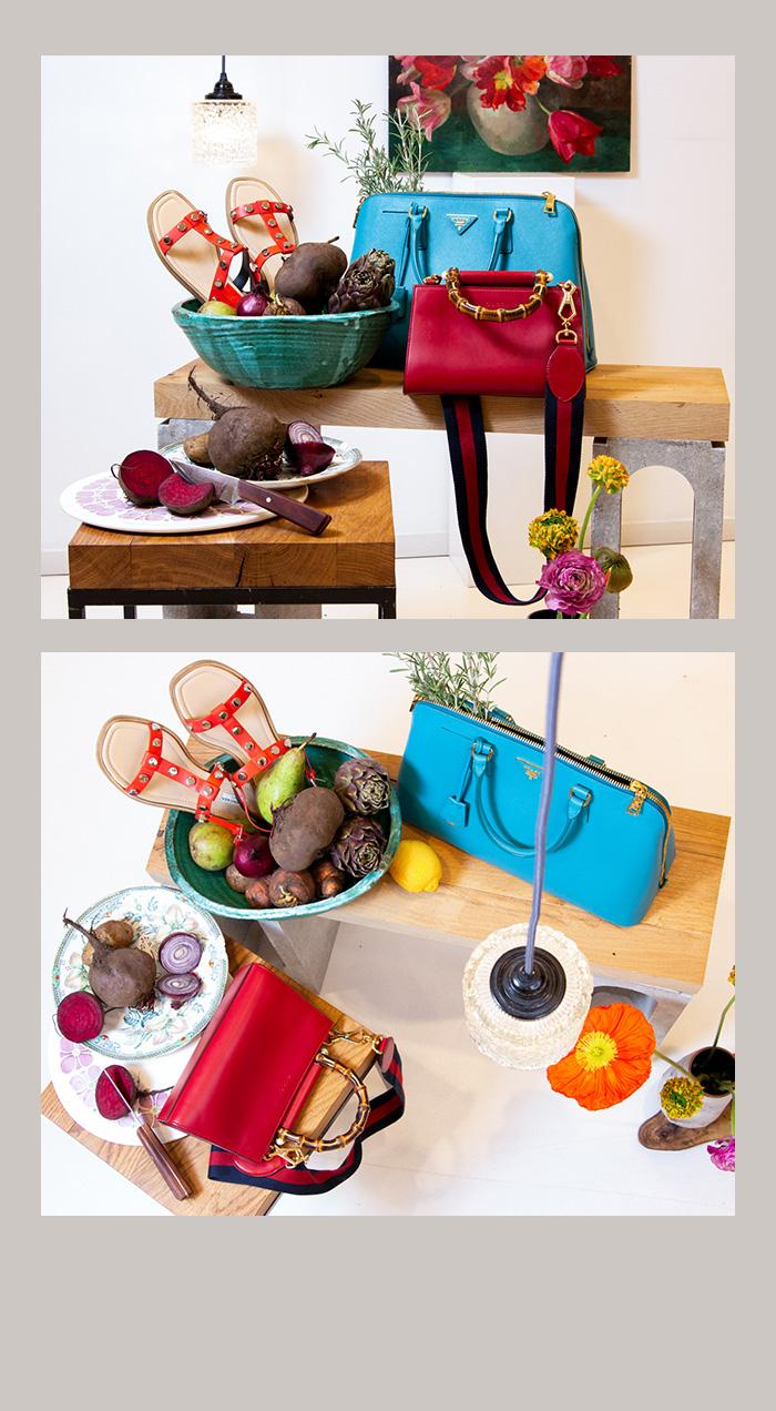 Farbenfrohe Designer-Accessoires für's Frühjahr 2020