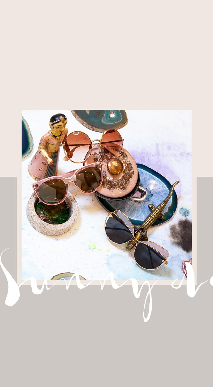 Neue Frühlings-Accessoires: Sonnenbrillen