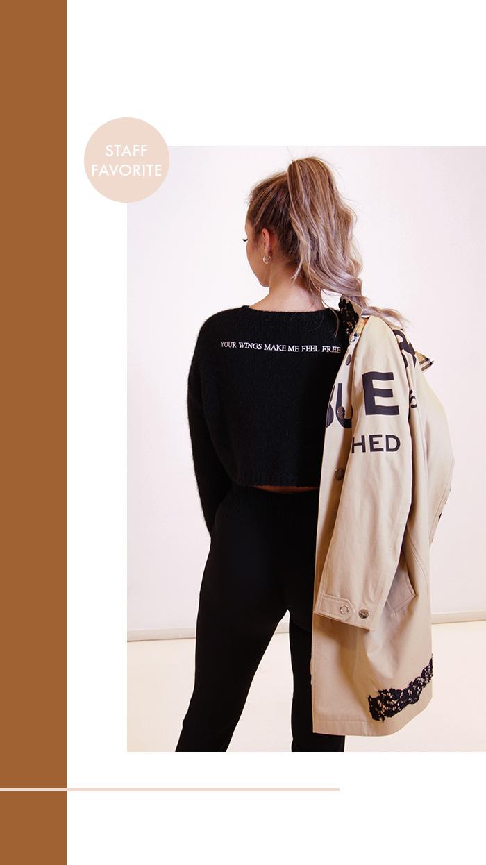 Frühjahr 2020: Second Hand Burberry Trenchcoat & Valentino Pullover