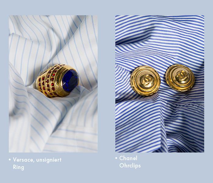 Vintage Schmuck von Chanel, Lacroix, Versace & Co.