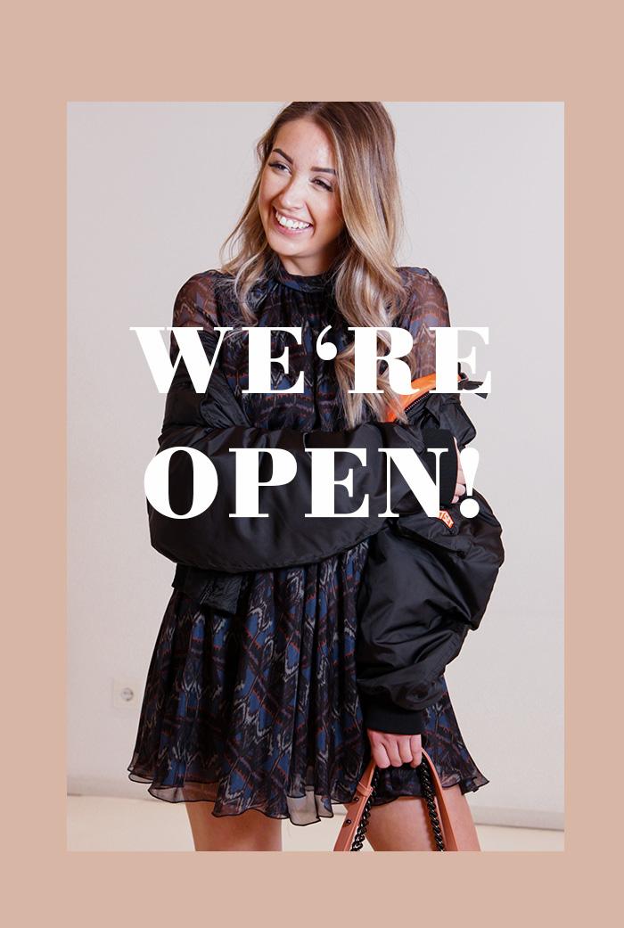 Reopening: 20. April 2020 – Wir haben wieder geöffnet