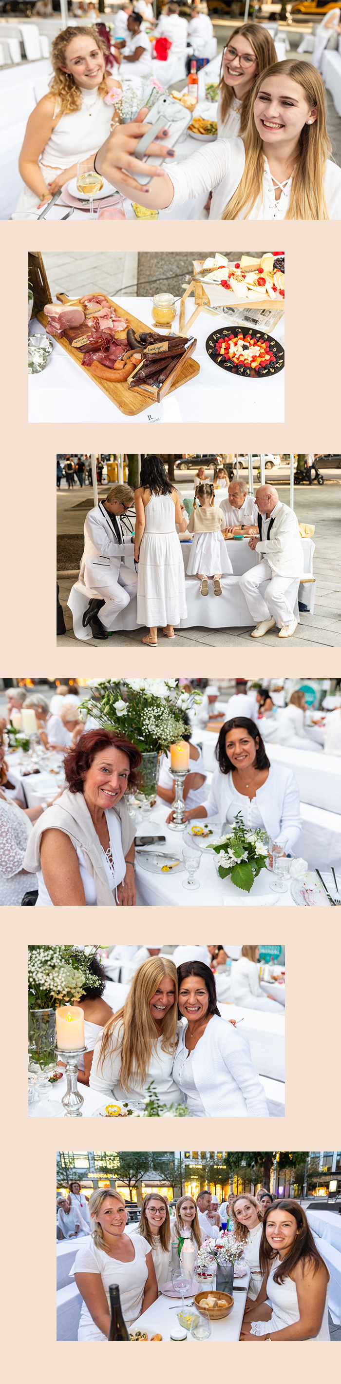 White Dinner Hamburg 2019 - ABC Viertel