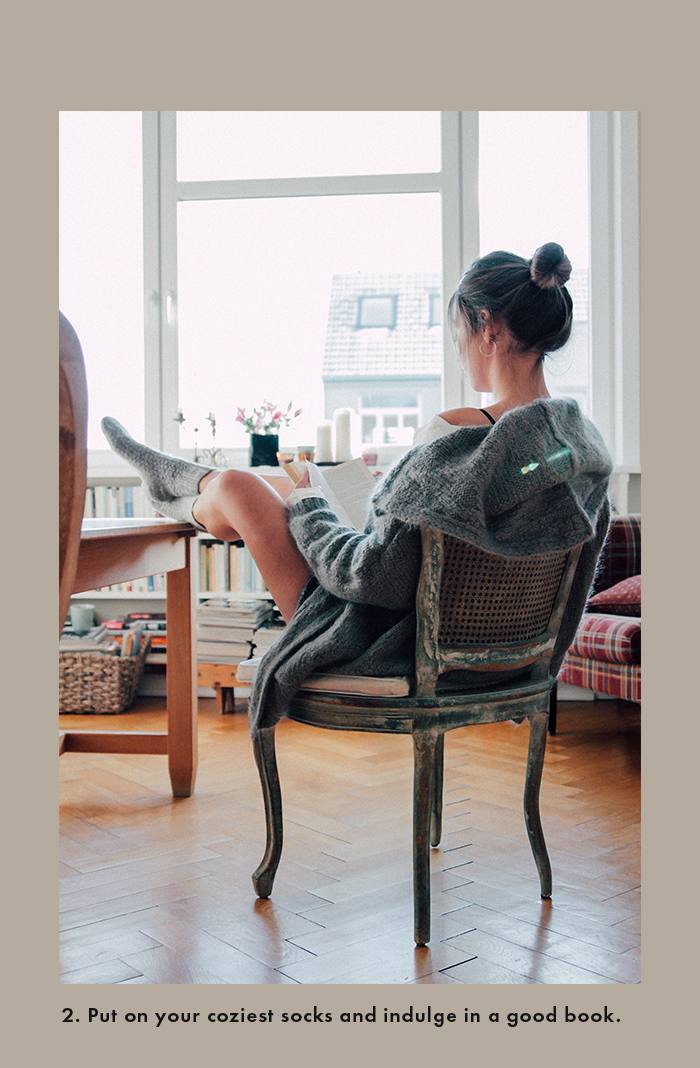 Winter days spent at home: Cozy Outfit