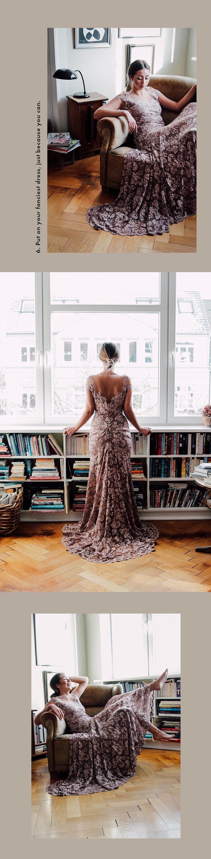 Winter days spent at home: Olvi's Dress