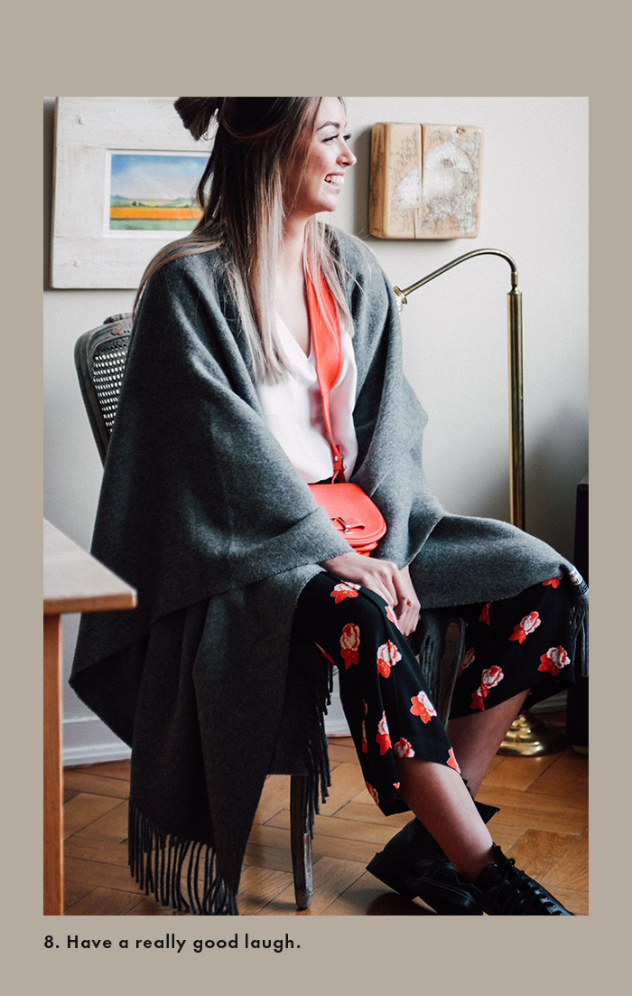 Winter days spent at home: Acne Studios Scarf