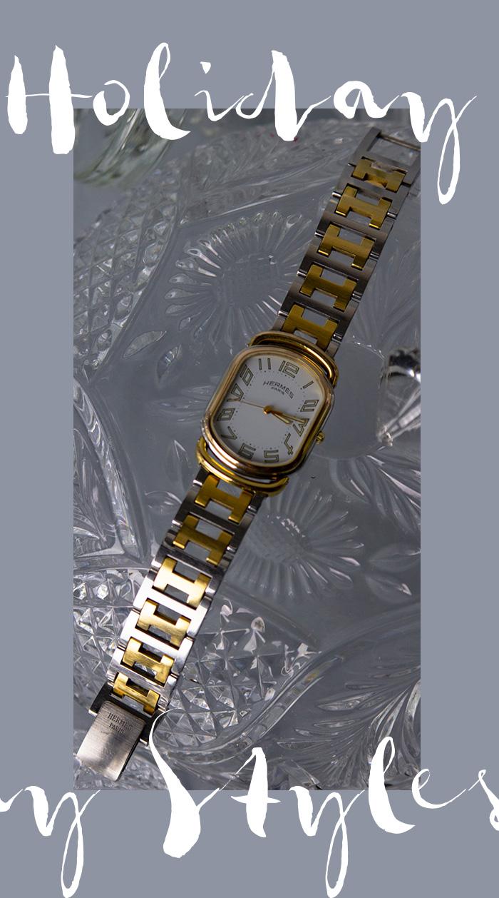 Hermès Uhr Rallye - Second Hand, gebraucht