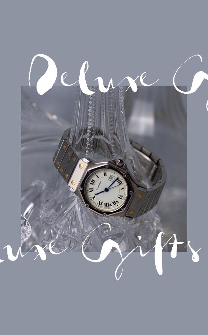 Cartier Uhr Santos, Automatic, 750 Weißgold