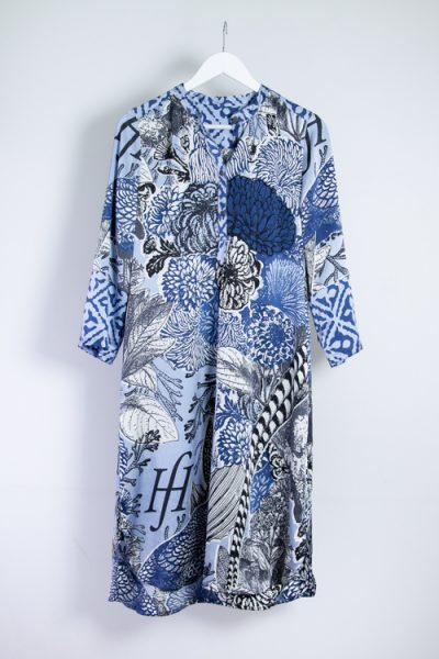 Friendly Hunting Kleid aus 100% Seide
