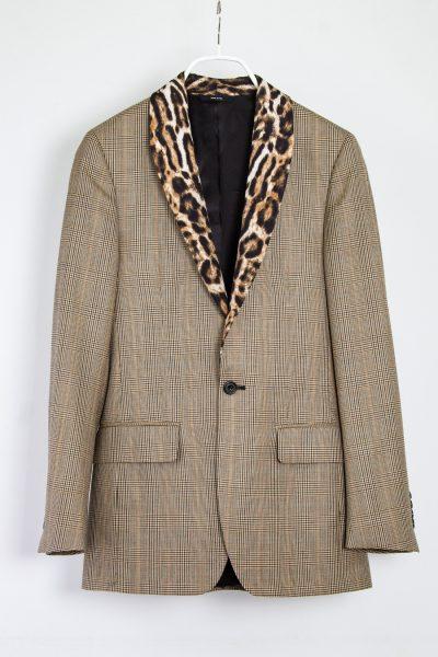 R-13 Blazer mit Leoparden-Print