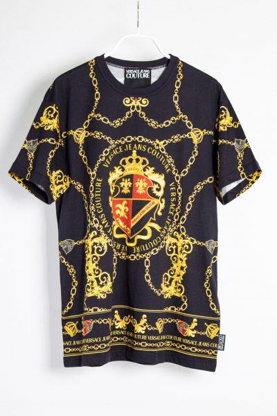 Versace Jeans Couture T-Shirt mit Wappen-Print