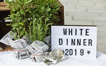 White Dinner Hamburg 2019 - Rückblick