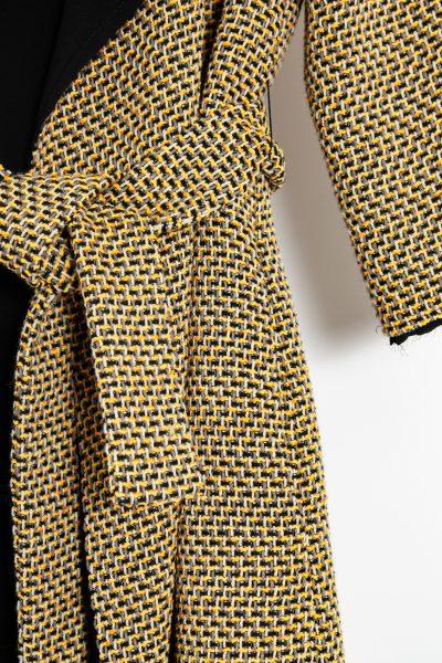 Etro Floraler Seiden-Mantel mit Fransensäumen