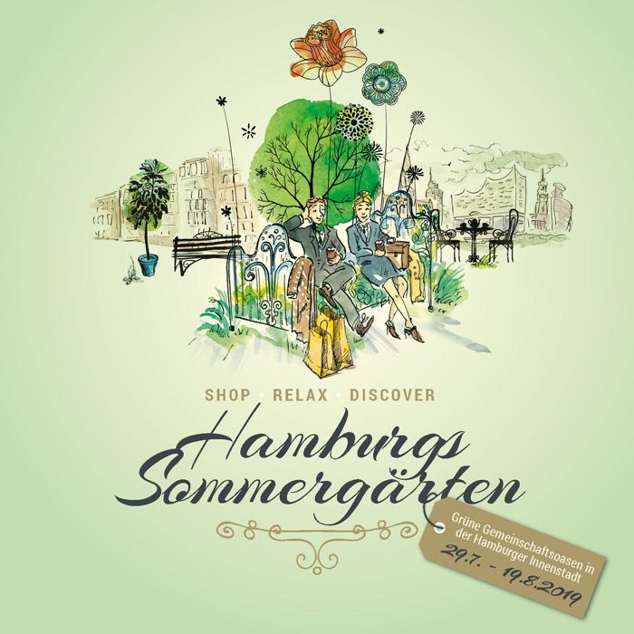 Urban Gardening Festival - Hamburgs Sommergärten